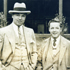 Gareth with the famous boxer, Jack Dempsey in 1927. [Photo - Stephen Lyons]